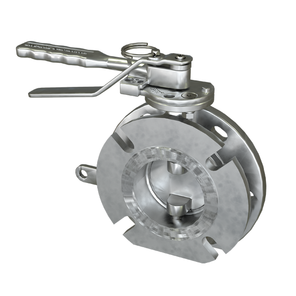 "3"" Top Discharge Butterfly Valve"